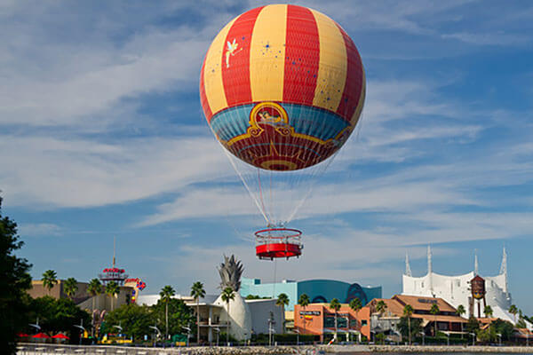 Characters in Flight...Operated by Aerophile